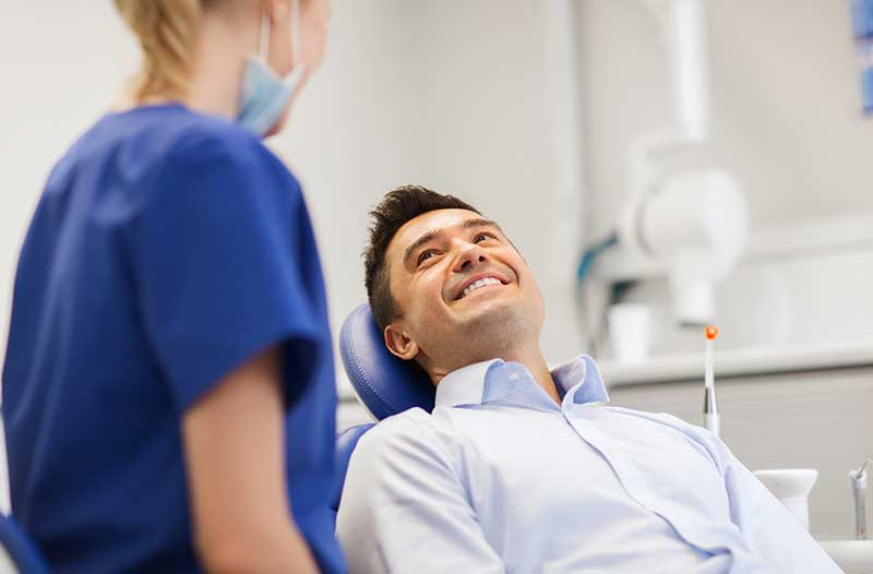 man-visiting-dentist